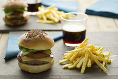 Hamburguesas de ternera | webos fritos