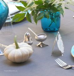 Fall Table Jewelry