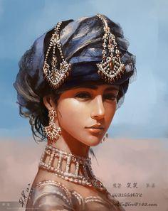 #portrait #2d-traditional #illustration #painting #sketch #art #digital-art