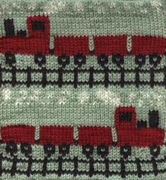 Free Pattern: Afghan block - Choo-Choo by Sarah Bradberry, Oh I have to make this for Jack : )