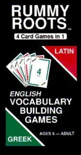 Rummy Roots: Card game for teaching Greek and Latin roots for English words