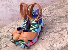 #MMissoni | Butterfly Zig Zag Wedges | Summer 2014 Collection