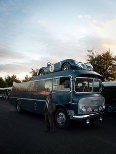 2011 Goodwood Revival: Ecurie Ecosse transporter | Photographer: Mattijs Diepraam