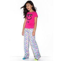 Hi Bye Leopard PJ Set #littlemissmatched