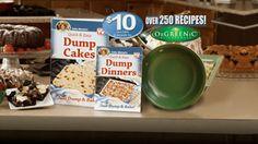 Dump Cakes - Official Site - Mistake Proof Dessert Recipes - Just Dump & Bake!