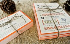 Wedding Invitation Rustic and Whimsical State