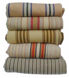 Antique Welsh Blankets.