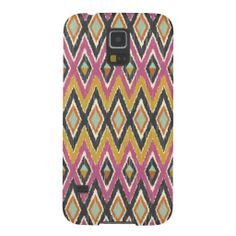 Sequoyah Tribal Ikat Case For Galaxy S5