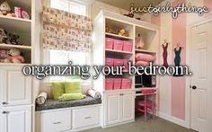 #justgirlythings #organize #bedroom