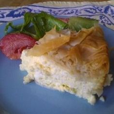 My Feta Phyllo Pie recipe was inspired by a neighbor.    But it's not her recipe.    The one she made me was delicious, flaky, perfect.... but it...