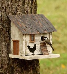 Chicken Coop Birdhou