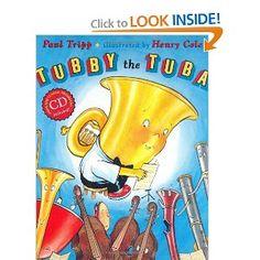 Tubby the Tuba (Book & CD) by Paul Tripp