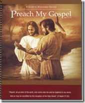 FHE lesson ideas from Preach My Gospel