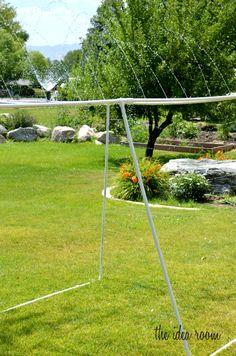 PVC Sprinkler for Summer fun