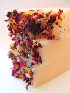 English Rose Cold Process Soap