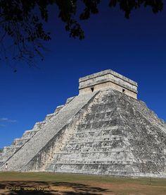 Chichen Itza Mayan Ruins Yucatan Peninsula Mexico