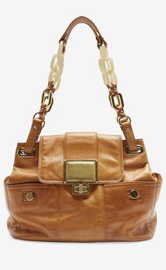 Balenciaga Paris Tan Handbag