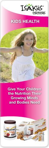 Isagenix: Kids Health - Give your children the nutrition their growing minds and bodies need