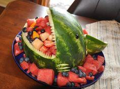 fruit shark for summer parties!