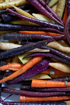 rainbow carrots side dish