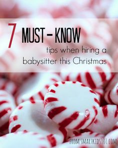 Santa Doesn't Sit | 7 Must-know Tips when Hiring a Babysitter this Christmas