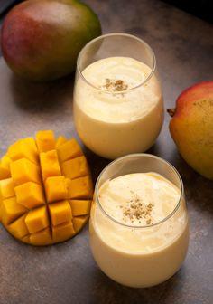 Indian Mango Lassi Drink - PineappleandCoconut.com