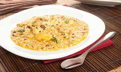 Receta de Arroz caldoso de pollo y jamón