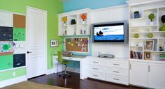 Kids Entertainment Center Design, Pictures, Remodel, Decor and Ideas - page 13