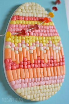 Candy Garland & Easter Egg Decor