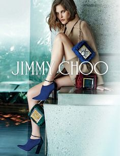 Catherine McNeil by Peter Lindbergh for Jimmy Choo F/W 2014.15