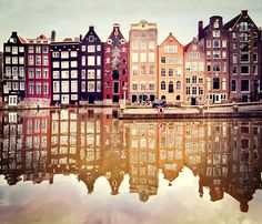 The waters of Amsterdam
