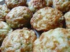 Baby Finger Food - Cheesy Zucchini Muffins