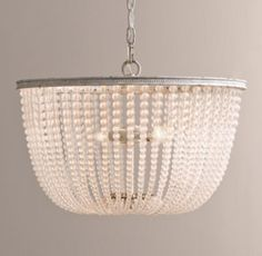 Dauphine Medium & Large Frosted Glass Pendant