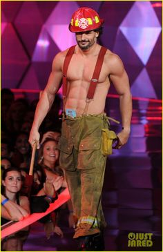 So that's all I have to do... start a fire?!?  Joe Manganiello