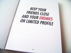 Enemies and friends