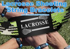 "Want a lacrosse bracelet? This the perfect lacrosse gift for a loved one or yourself. This lacrosse bracelet is designed with sliding adjustments to fit any wrist perfectly. Our lacrosse bracelet can be worn by itself or collect all of the lacrosse bracelets and wear the bracelets together. If you love this lax bracelet, but you want to add a personal touch then check our ""Shooter"" lacrosse bracelets with engraved metal sliders."