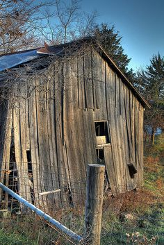 Tired Old Barn
