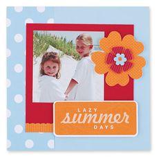 6x6 scrapbook, scrapbook layouts, summer scrapbook, scrapbook pages, beach scrapbook