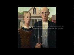 Excellent video produced for Google Art Project. Grant Wood, American Gothic, 1930