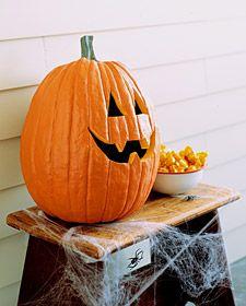 talking pumpkin