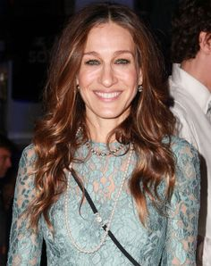 Sarah Jessica Parker Adorned in Mikimoto