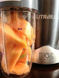 If you only knew how amazing cantaloupe juice is... #NutriBullet #NutriBlast