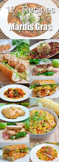 12 Recipes for Mardis Gras