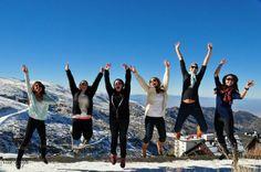 @neenskiis: UD Study Abroad Granada 2013 goes to Sierra Nevada! #UDAbroad