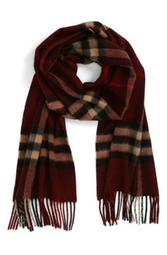 Cashmere Scarf | Burberry Brit