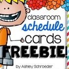 This schedule card freebie file is a THANK YOU for the constant support and encouragement that you all provide to me every single day!! I hope you ...