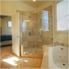 Corner Shower Idea