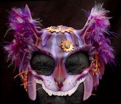 Steampunk Cheshire Cat Mask