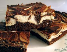 cheesecake brownies # food # cheesecake#Repin By:Pinterest++ for iPad#