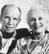 Jessica Tandy and Hume Cronyn...52 years as a couple, on stage and off. That's an accomplishment.